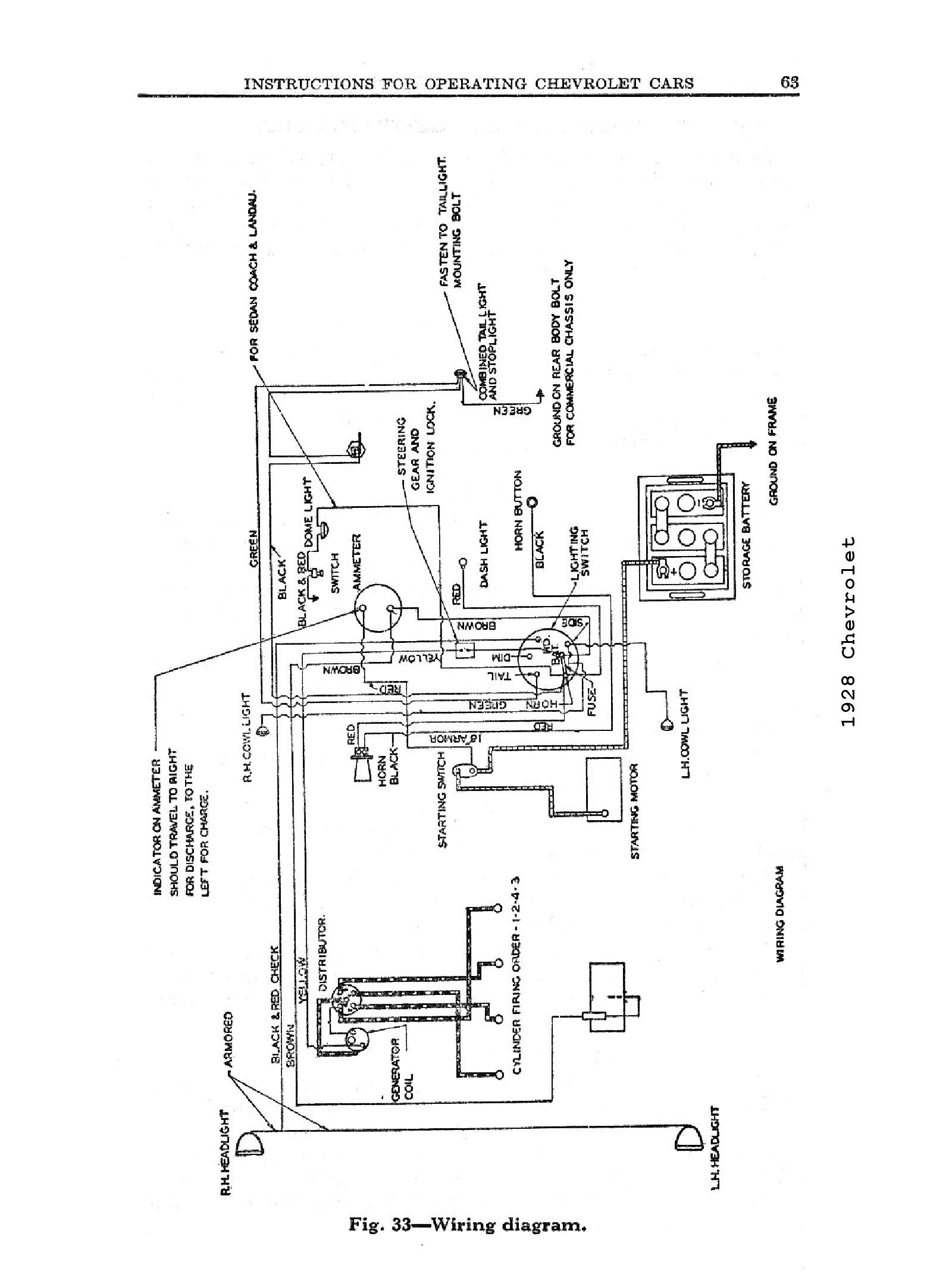 chevy column wiring schematic