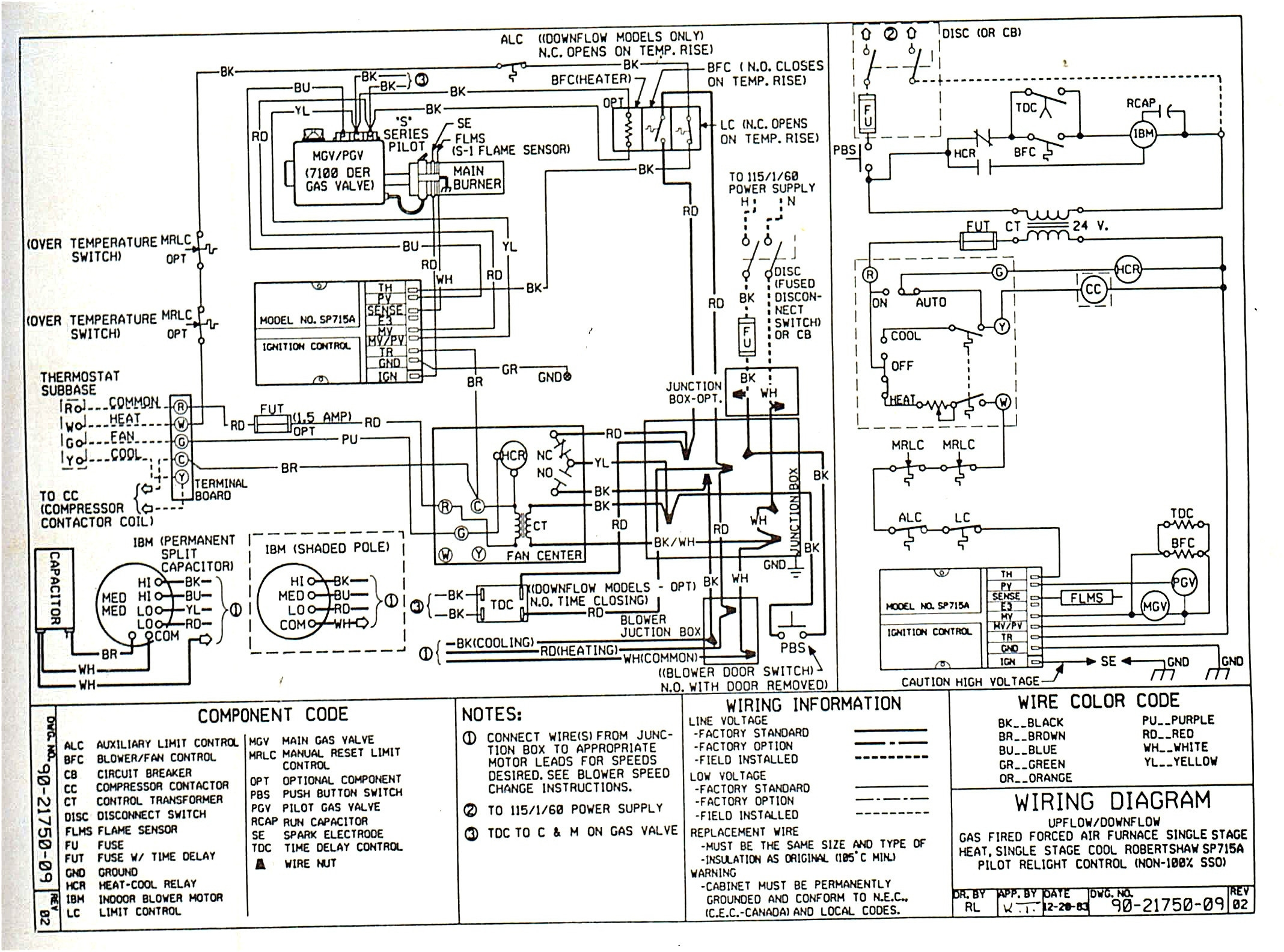 coleman mobile home furnace wiring diagram also electrical circuit