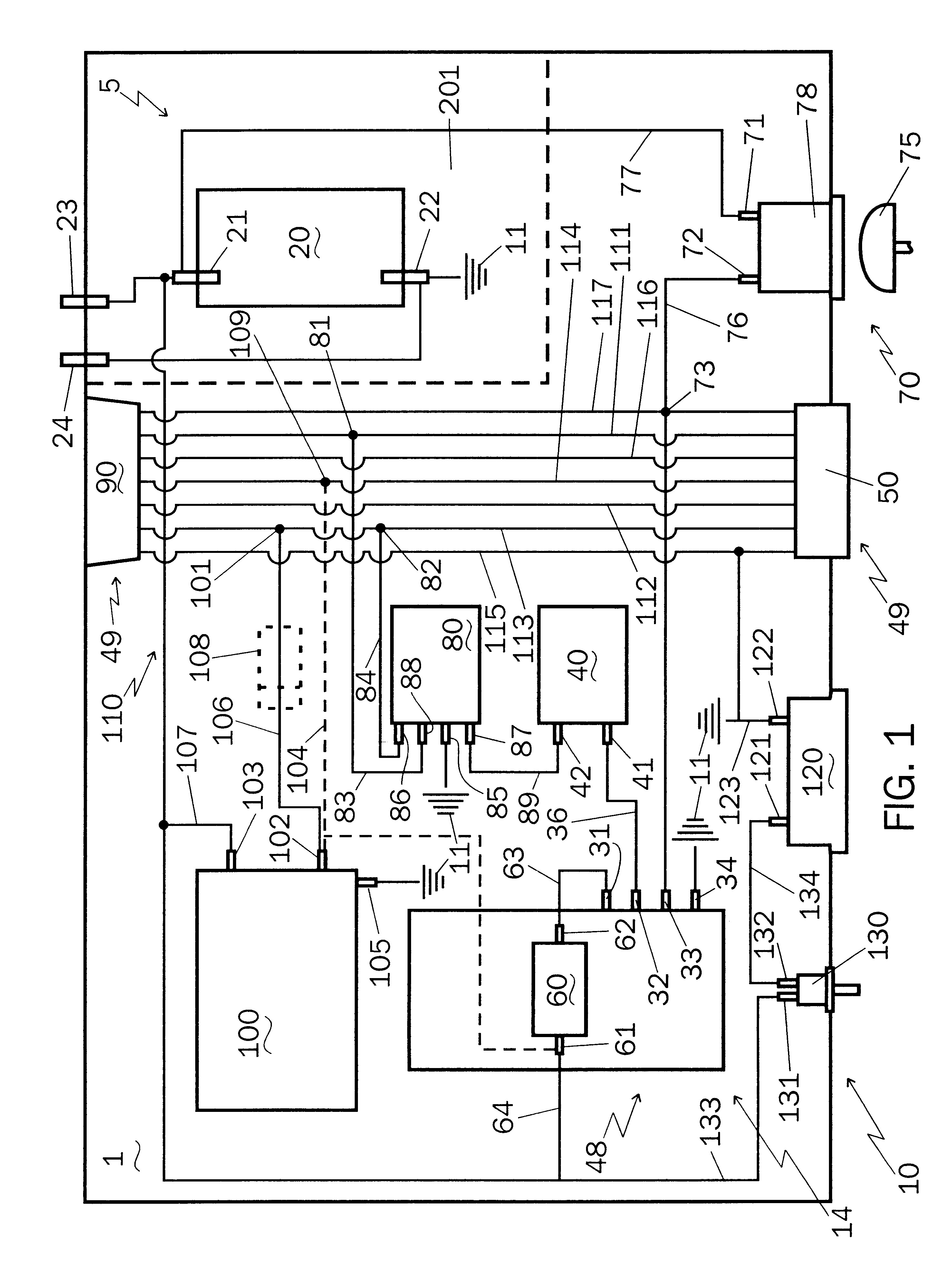 electric brake controller diagram