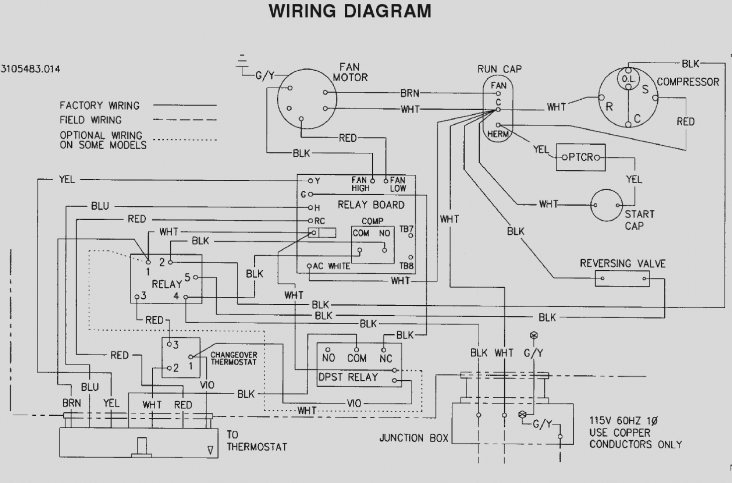 how to read hvac wiring schematics