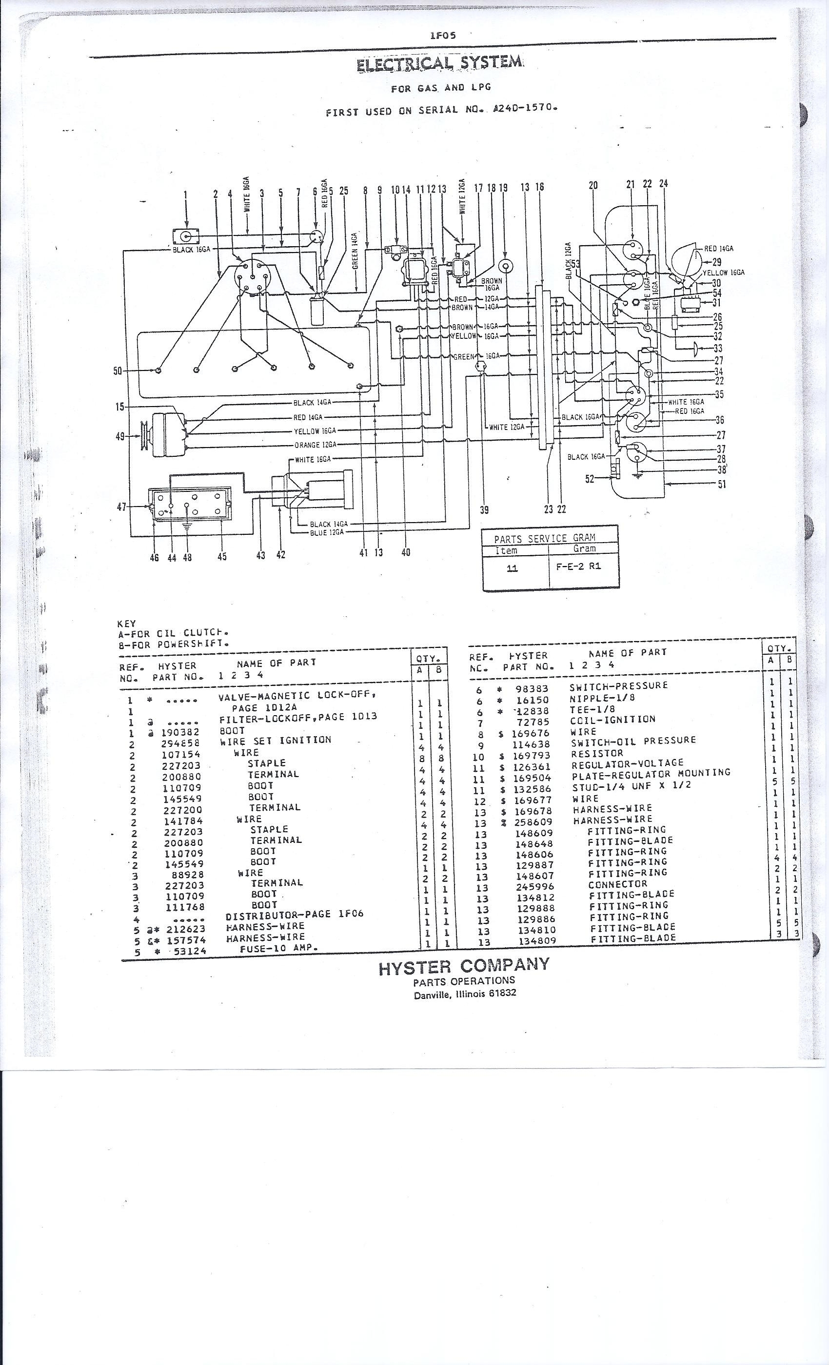 yale battery charger wiring diagram