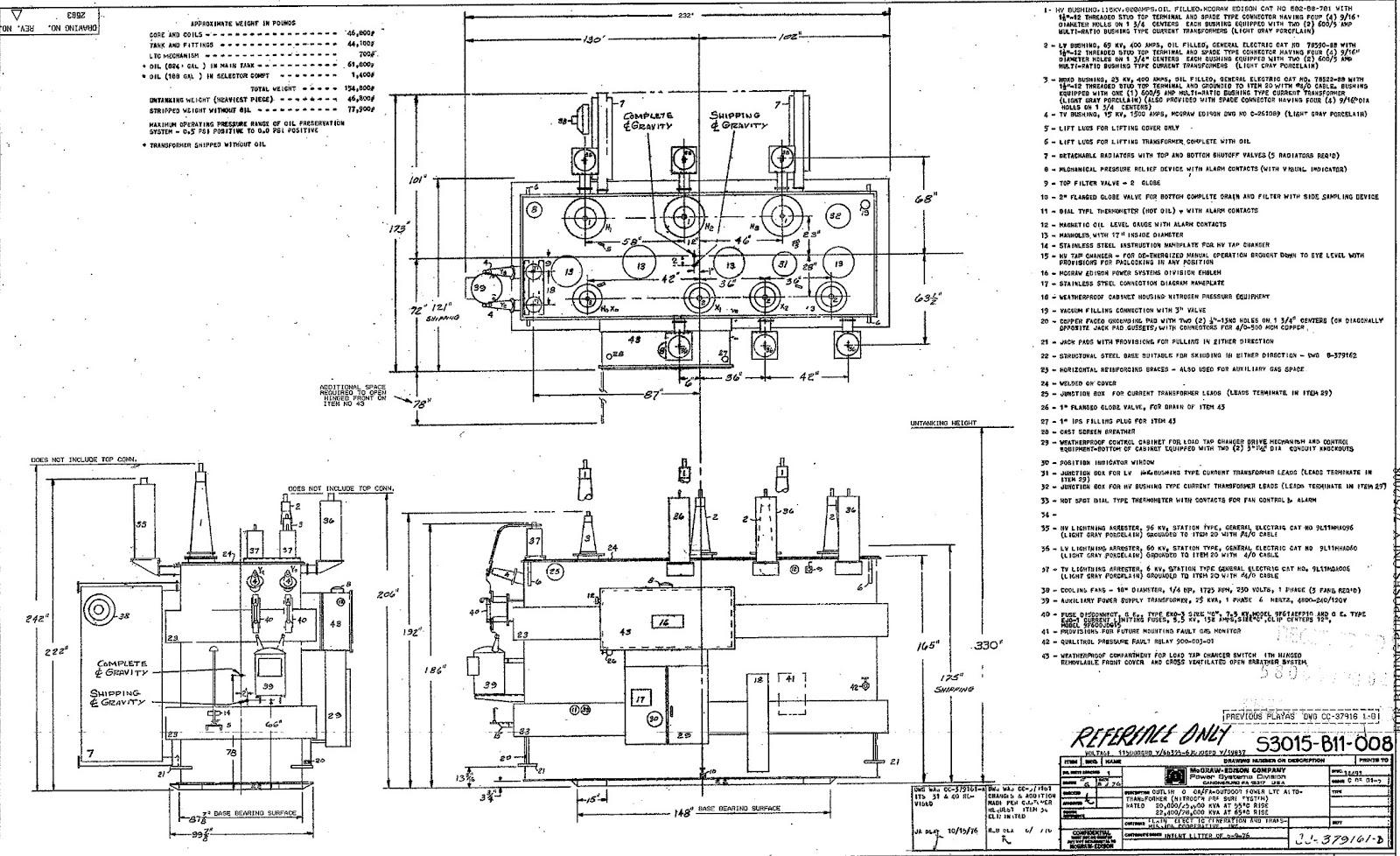 wiring a transformer in edison