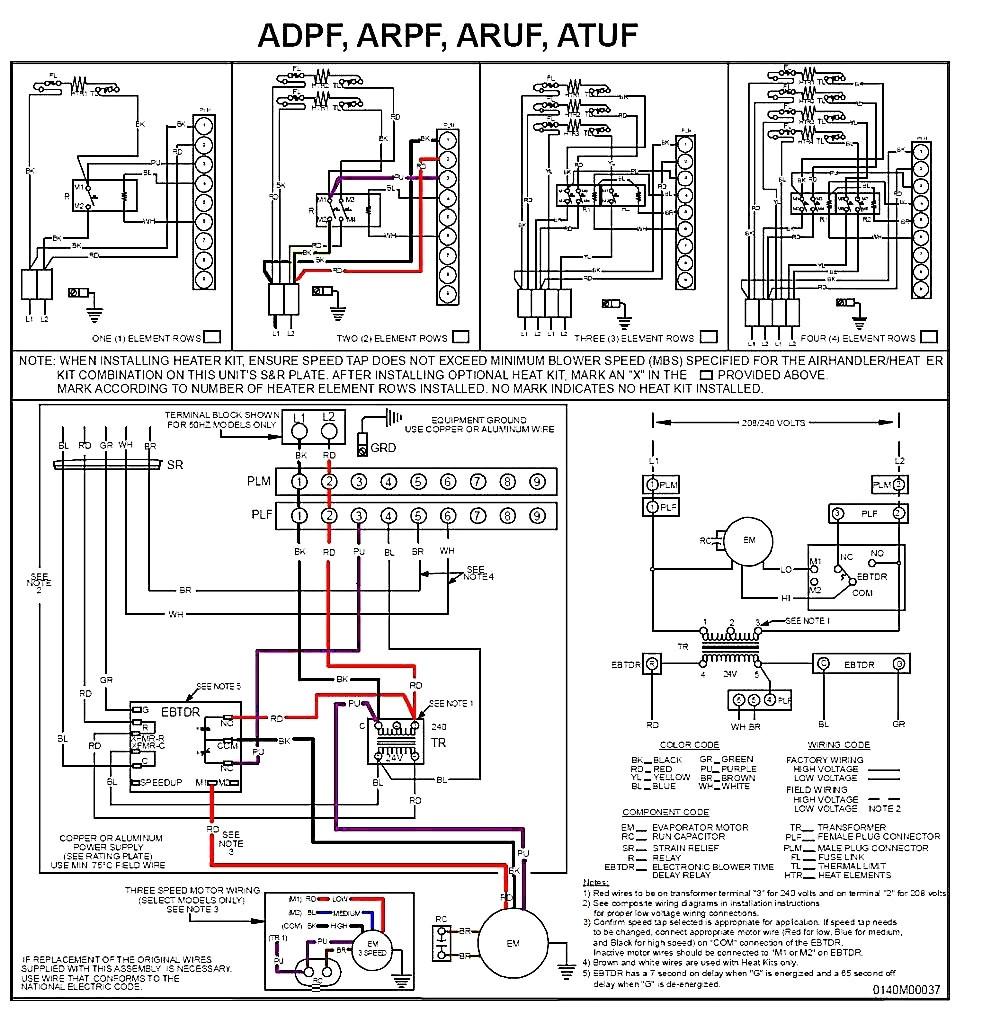 wiring diagram for goodman ac unit