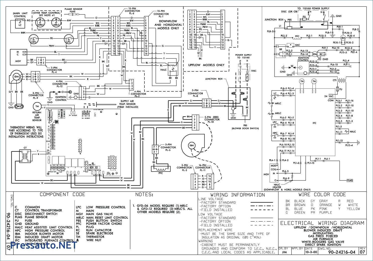 Home Air Conditioner Wiring Diagram Free Picture