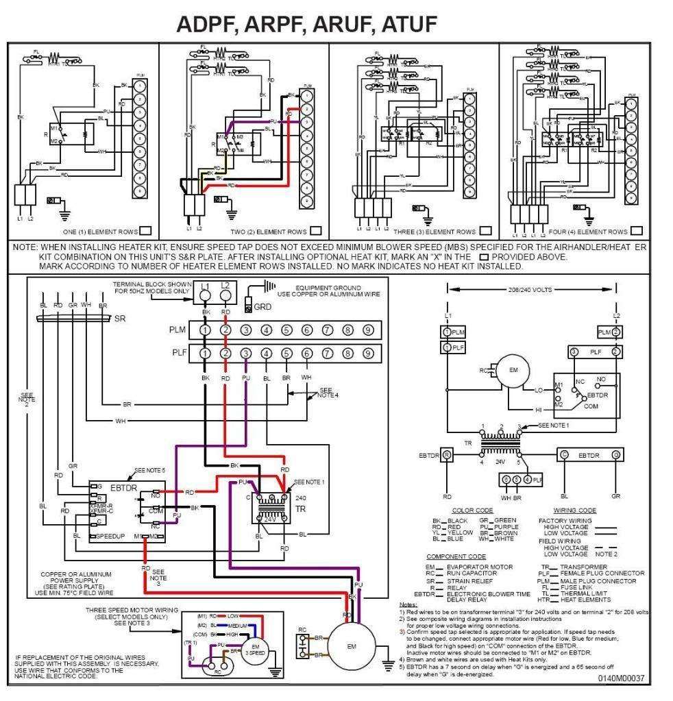 goodman wiring heat pump