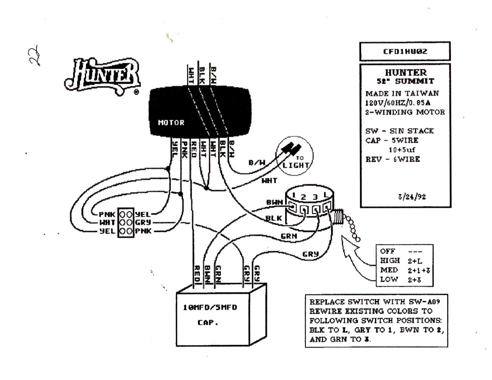 wiring diagram hampton bay ceiling fan