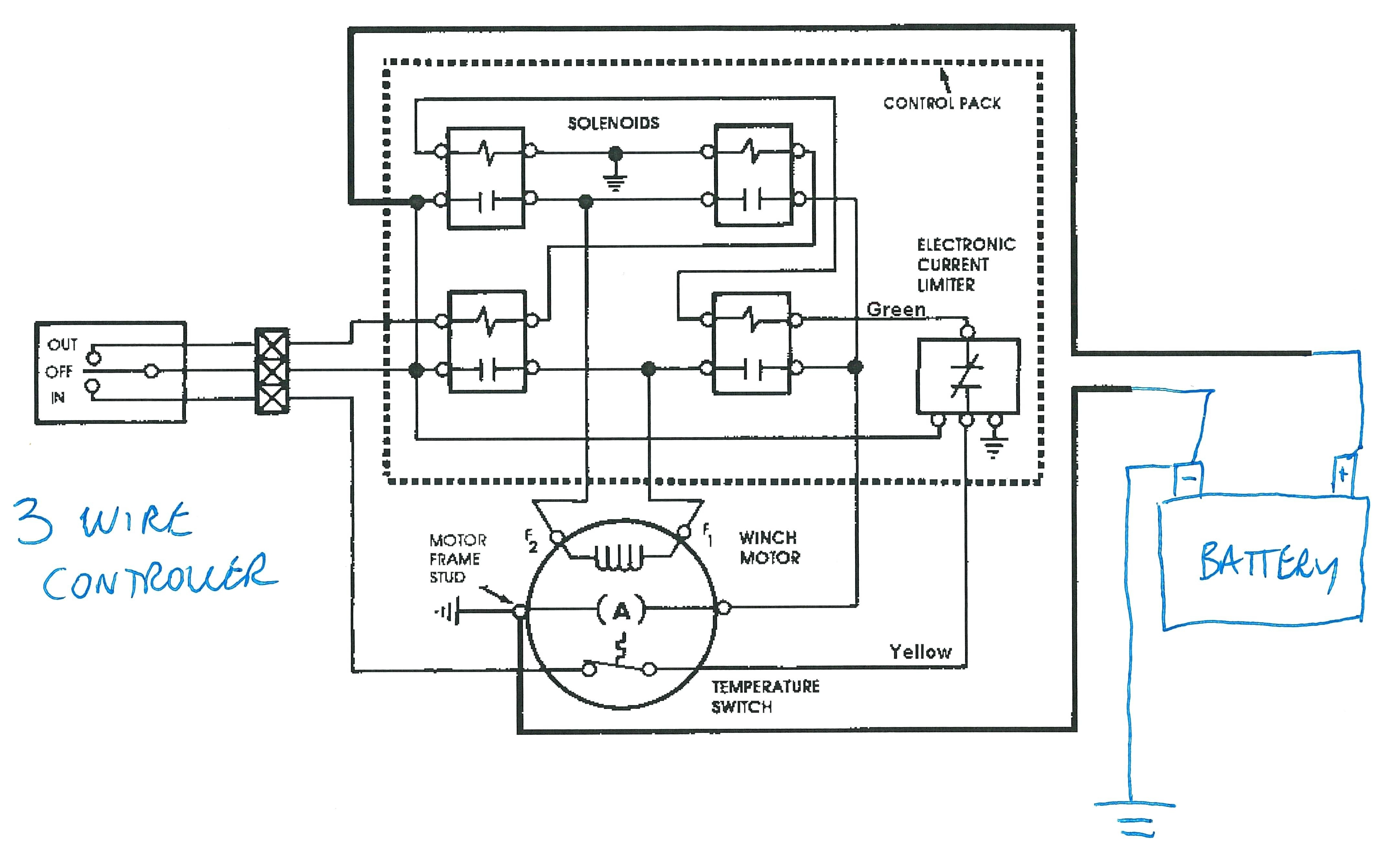 3 pole solenoid switch wiring diagram
