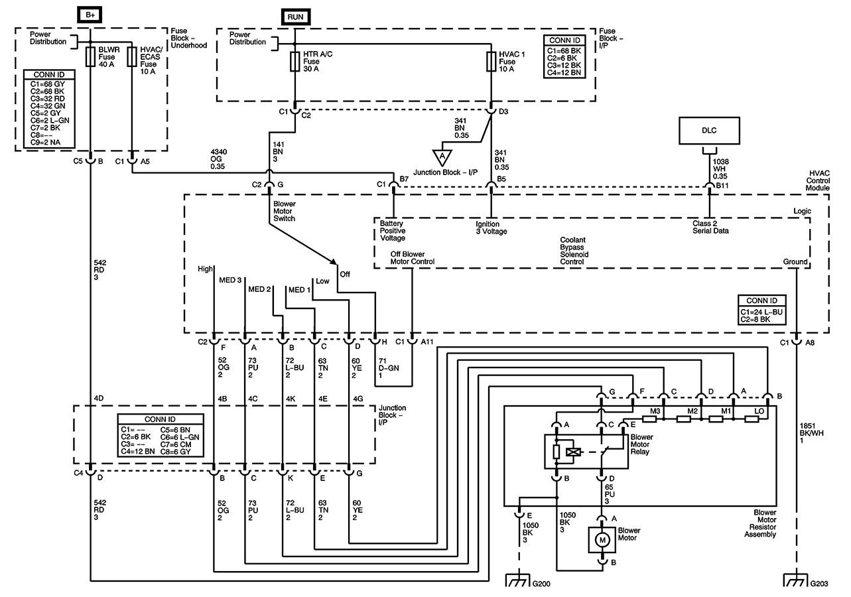 2004 chevy silverado 1500 wiring diagram ac