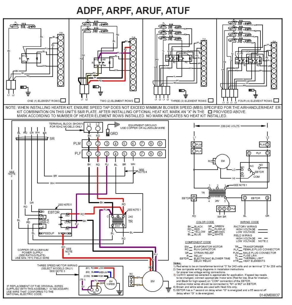 ac furnace blower motor wiring diagram