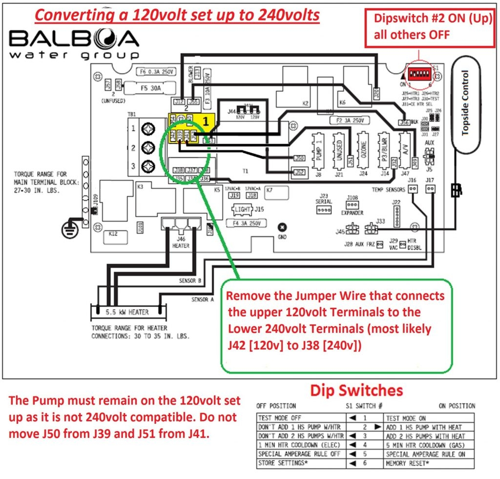hot springs hot tub wiring connections