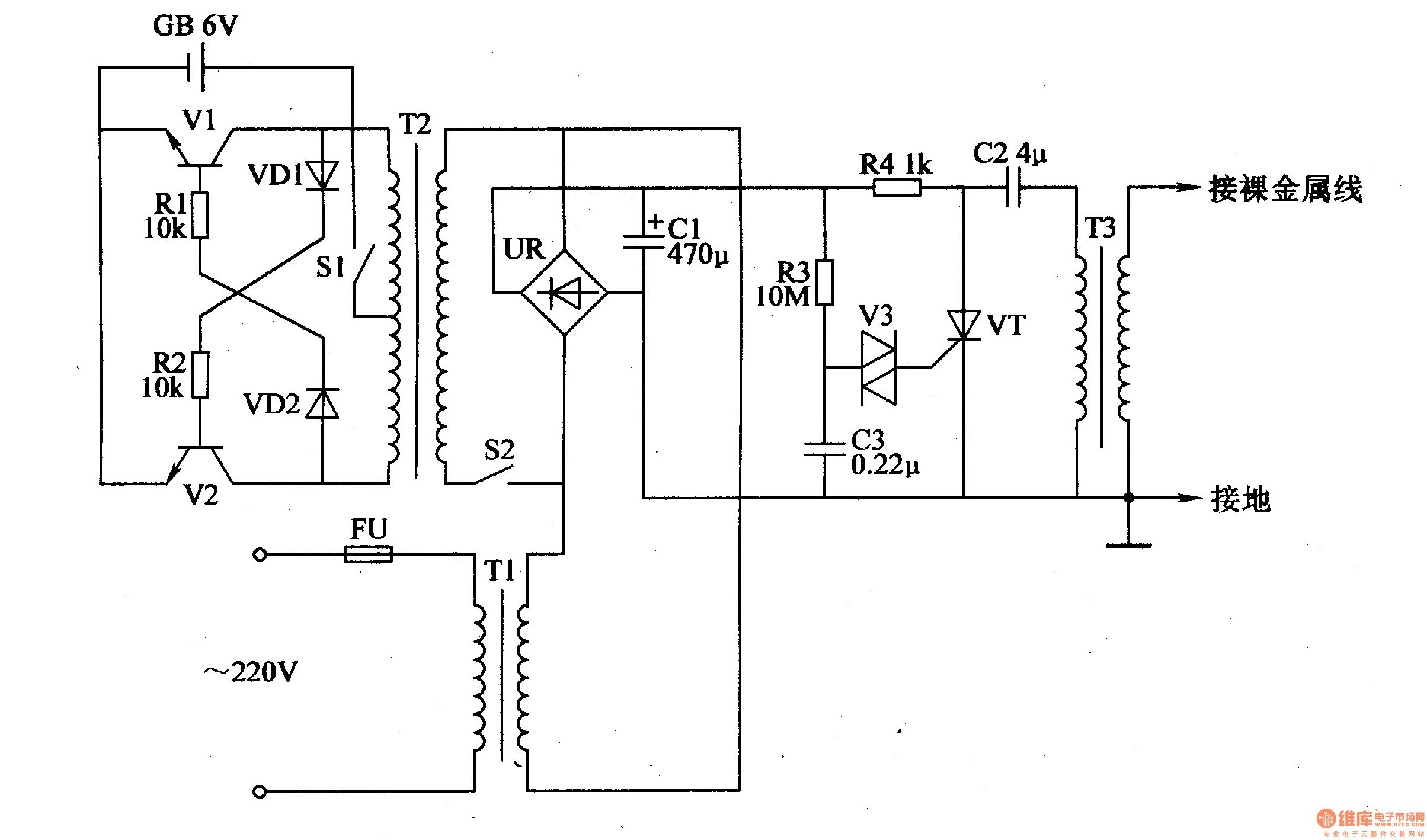 wiring diagram invisible fence