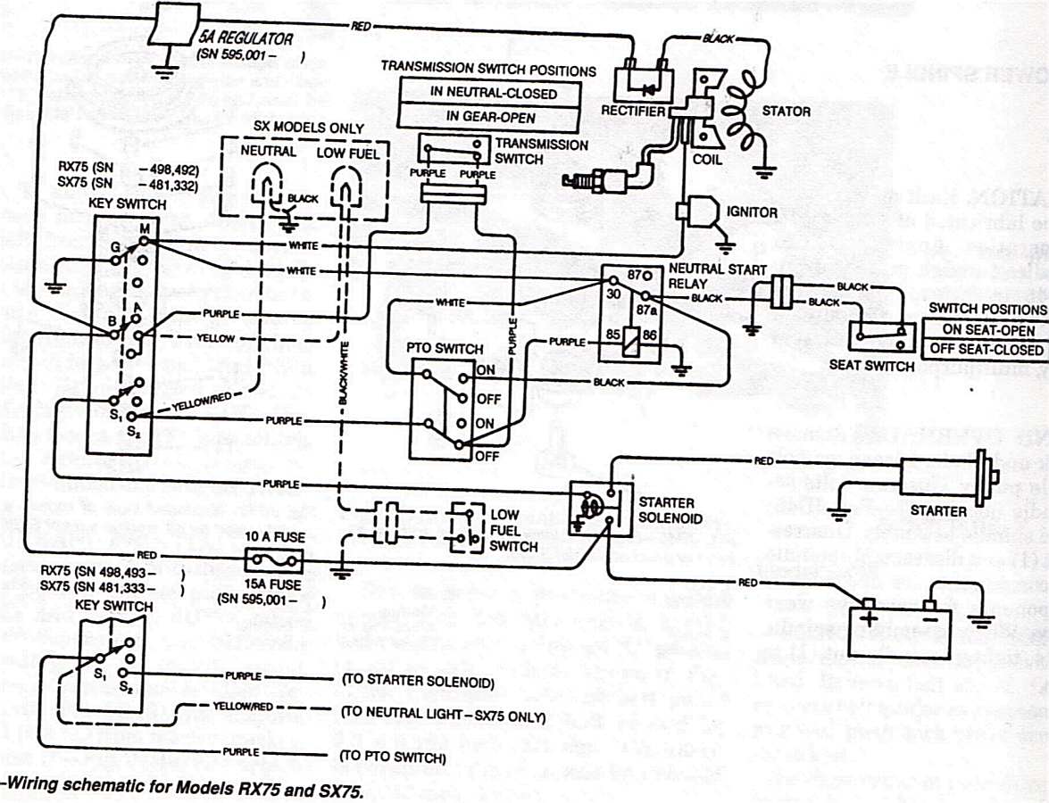 point type ignition wiring schematic