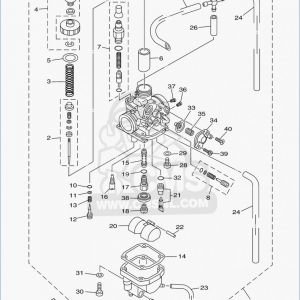 banshee carb diagram
