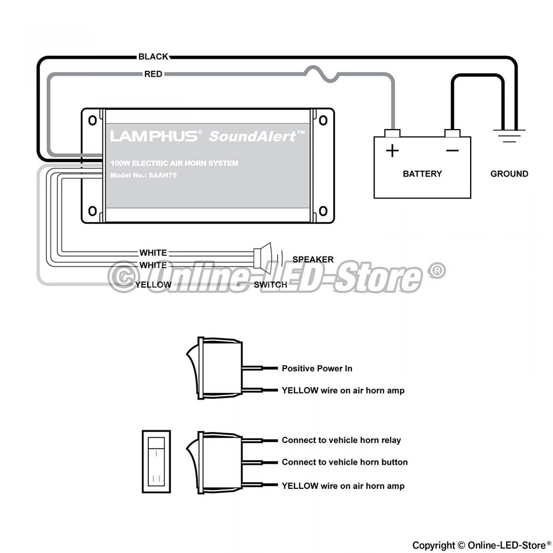 wolo air horn wiring diagram