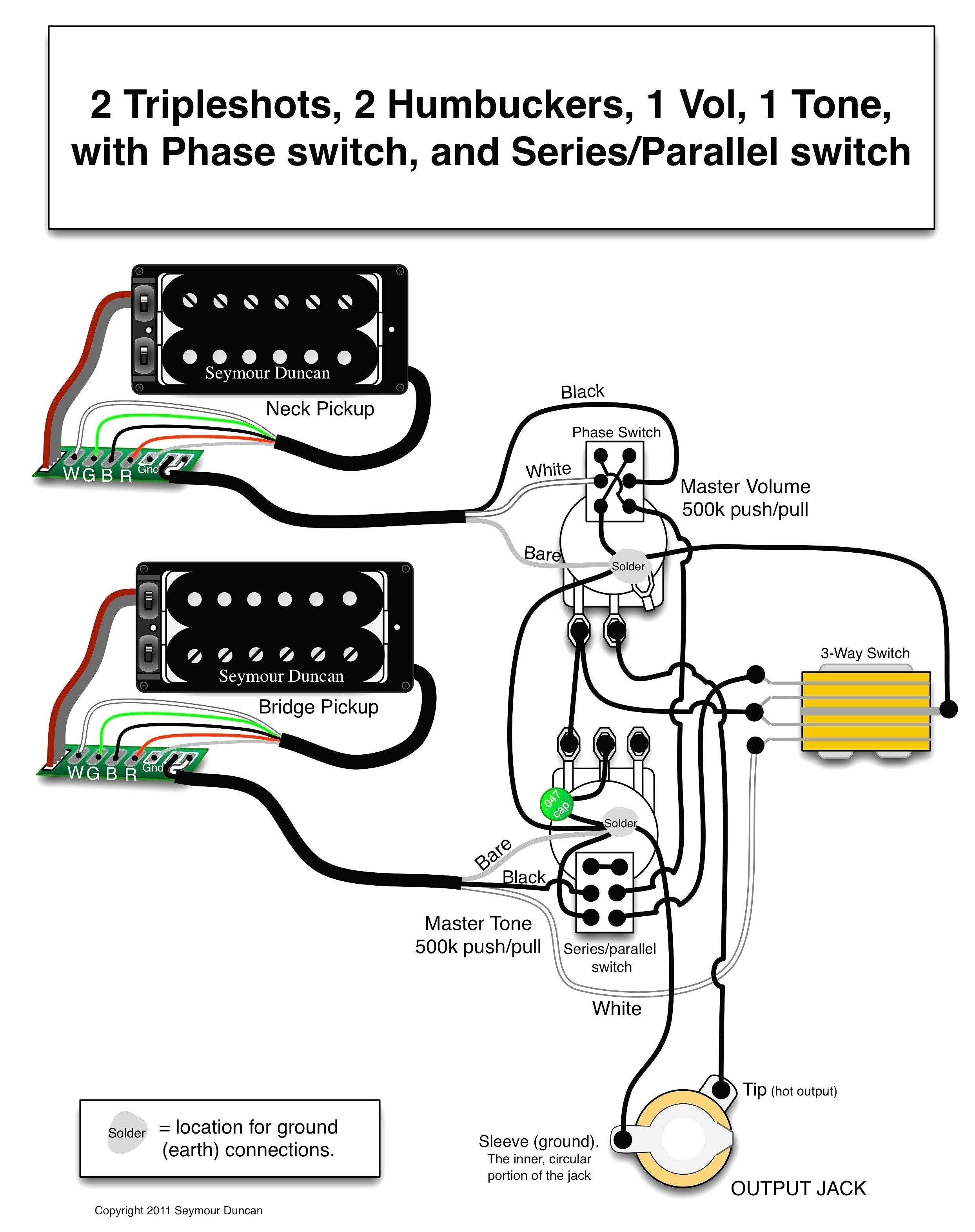 epiphone pickup wiring schematic
