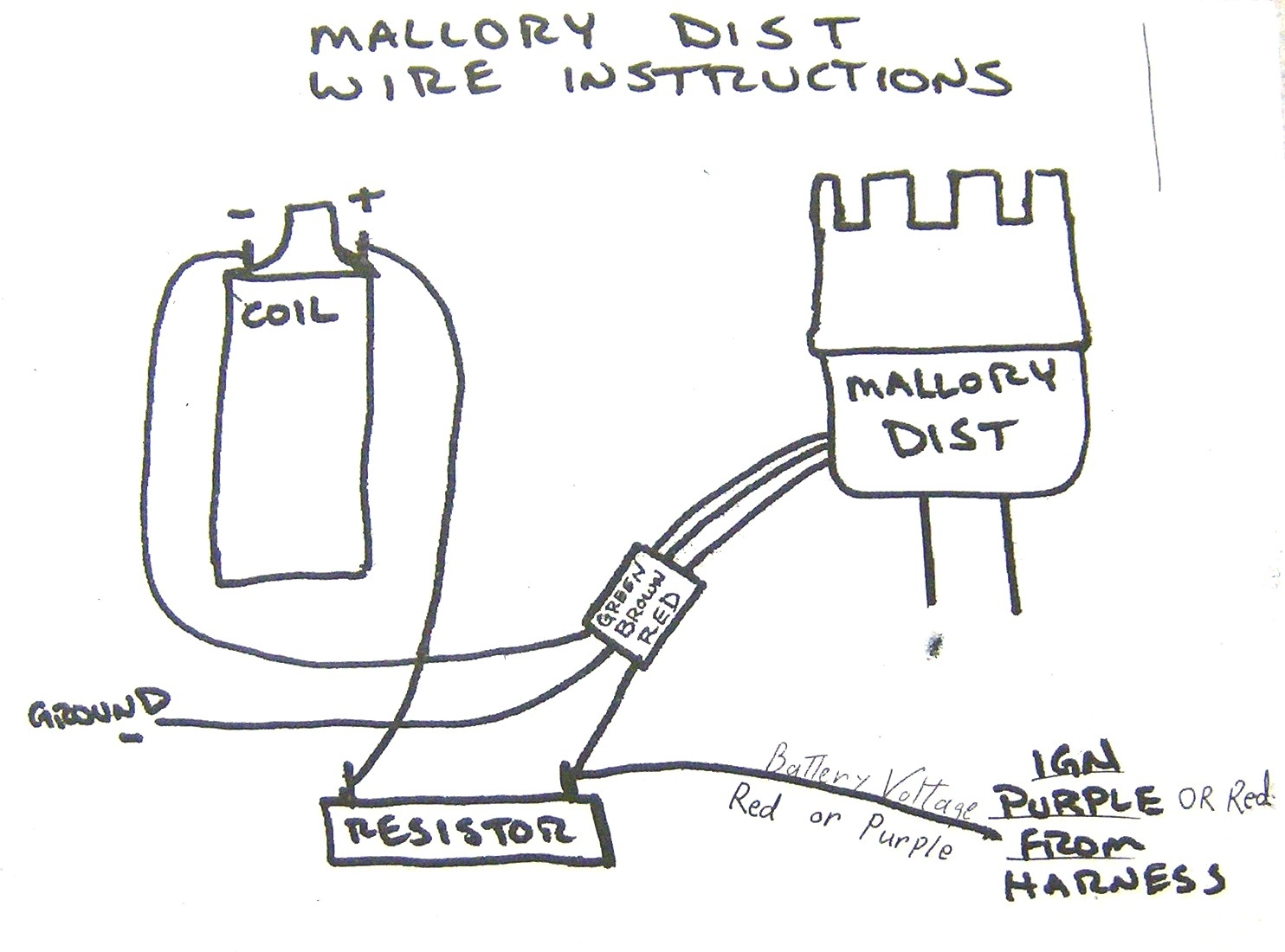 mallory prop ignition wiring diagram