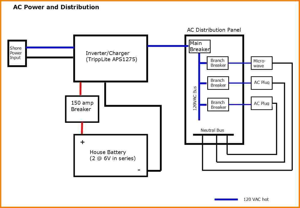 marine inverter charger wiring diagram wiring diagram