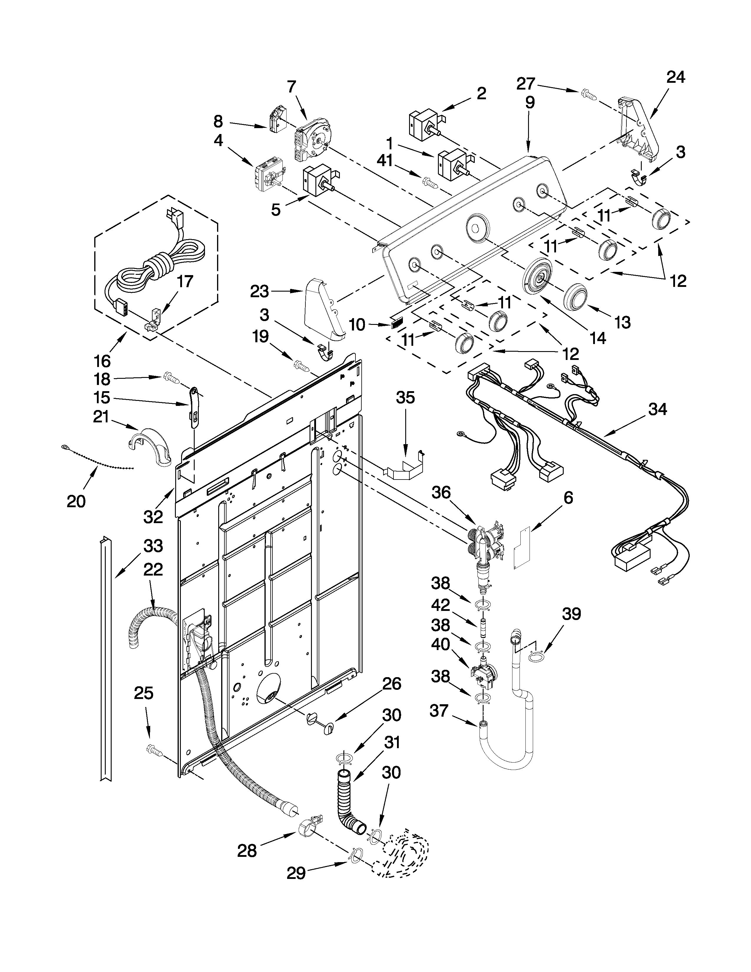 maytag washer wiring diagram 3158710