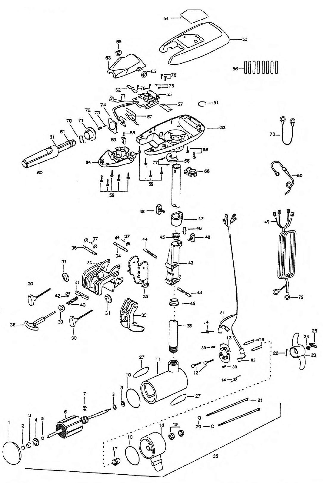 24 volt trolling wiring diagram