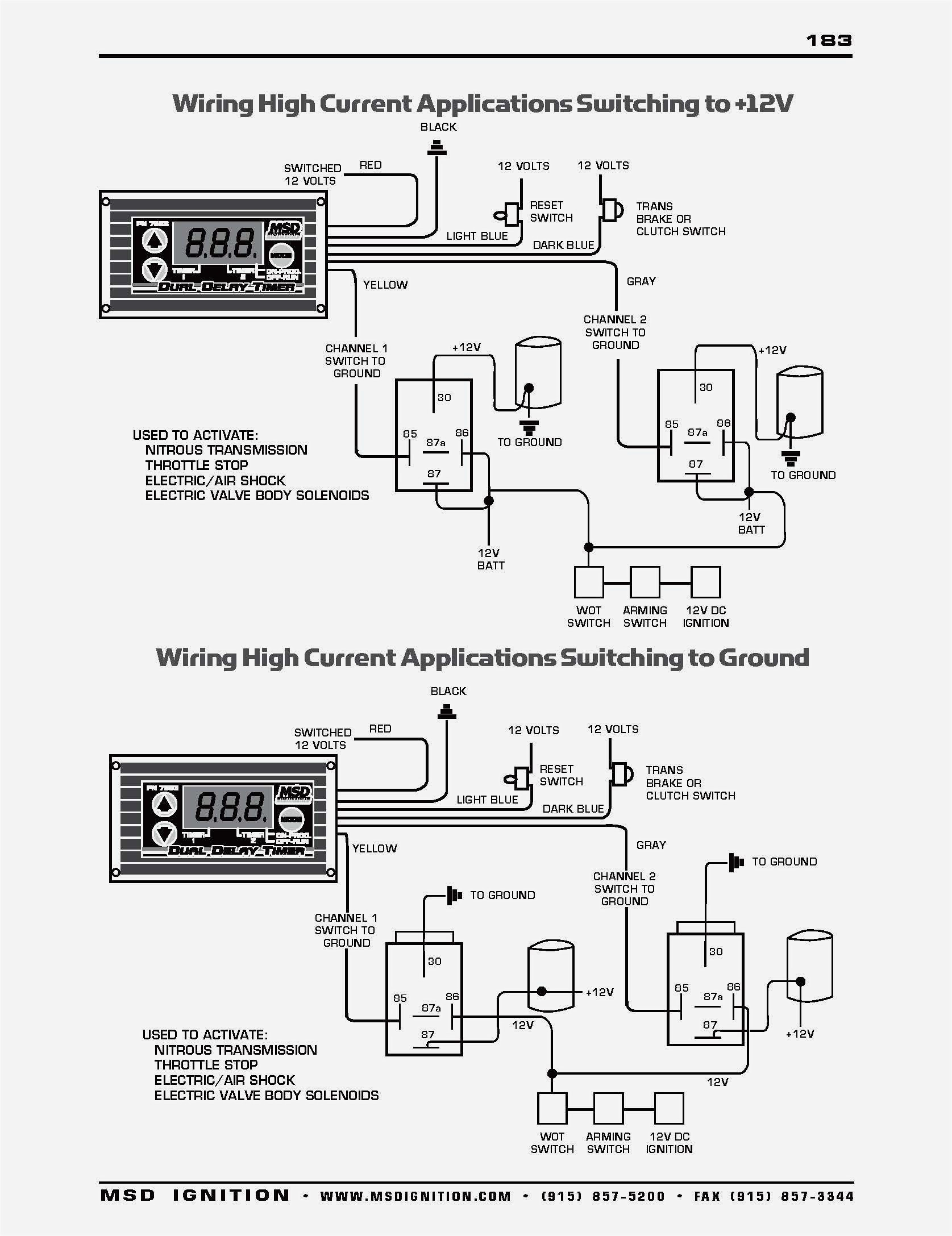 msd box wiring diagram