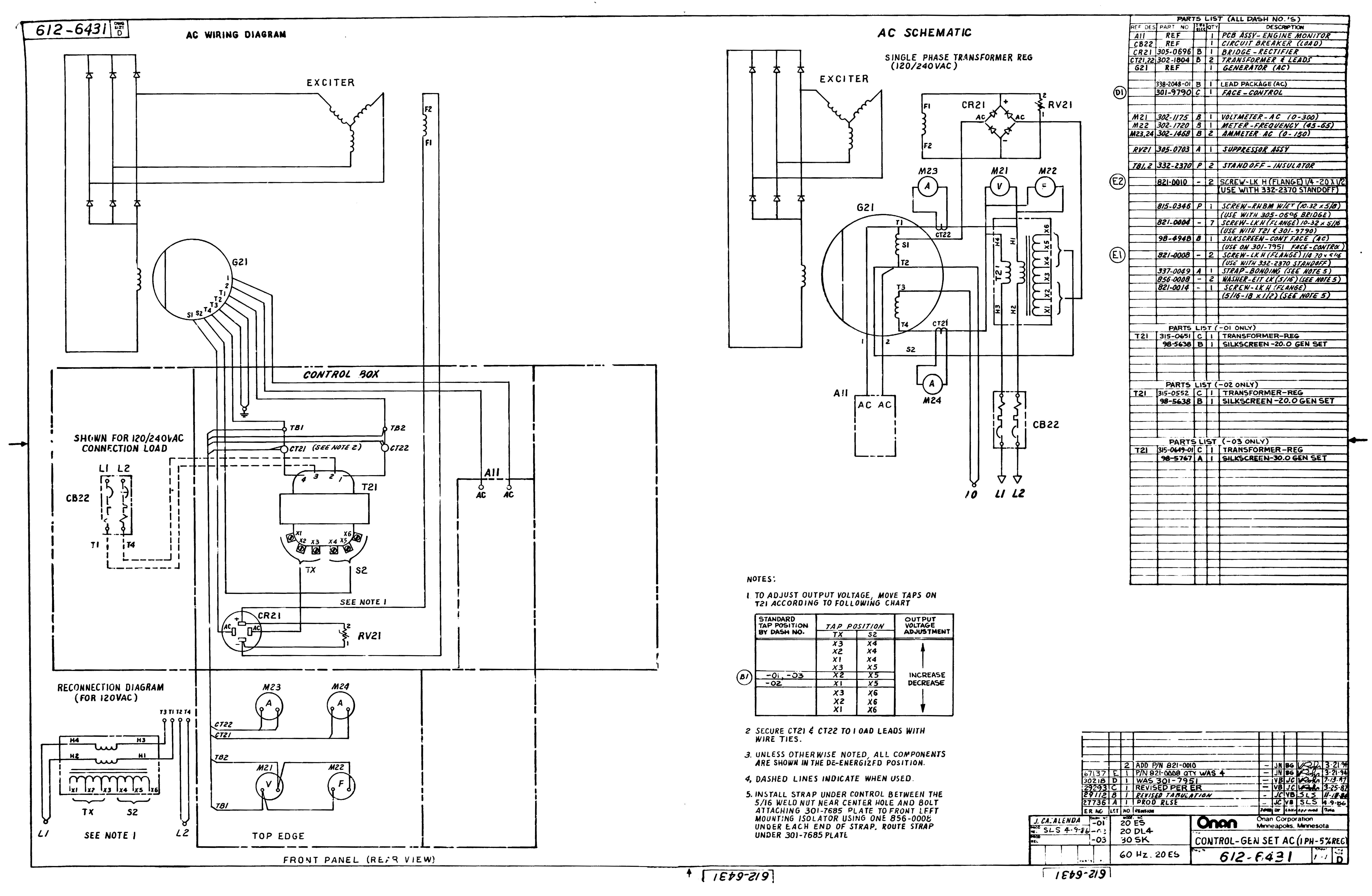 onan 4500mercial generator wiring diagram