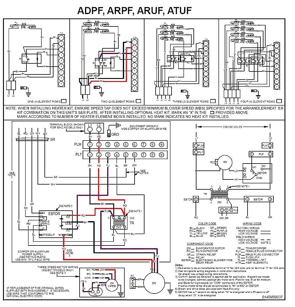 goodman ac unit wiring