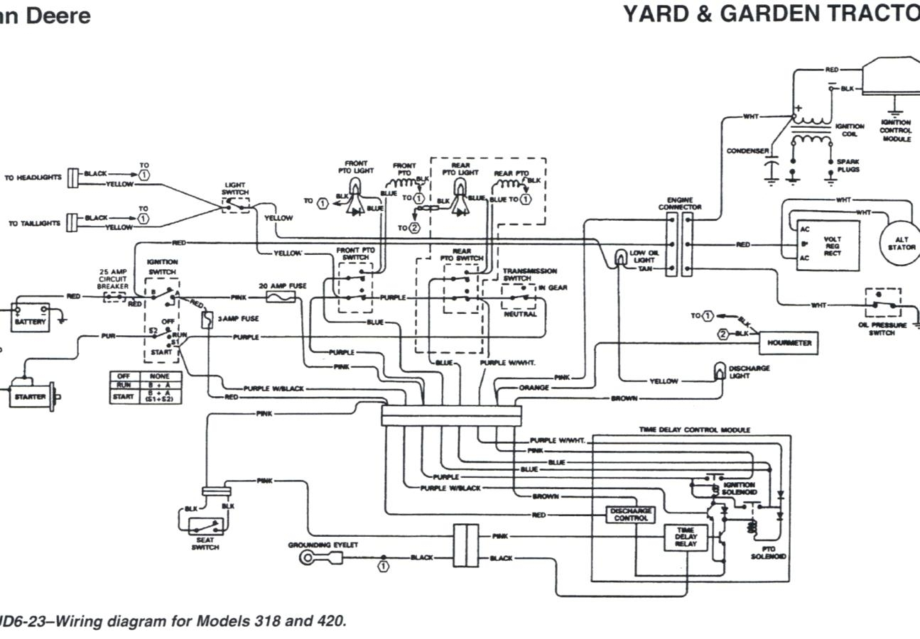 john deere x700 electrical diagram