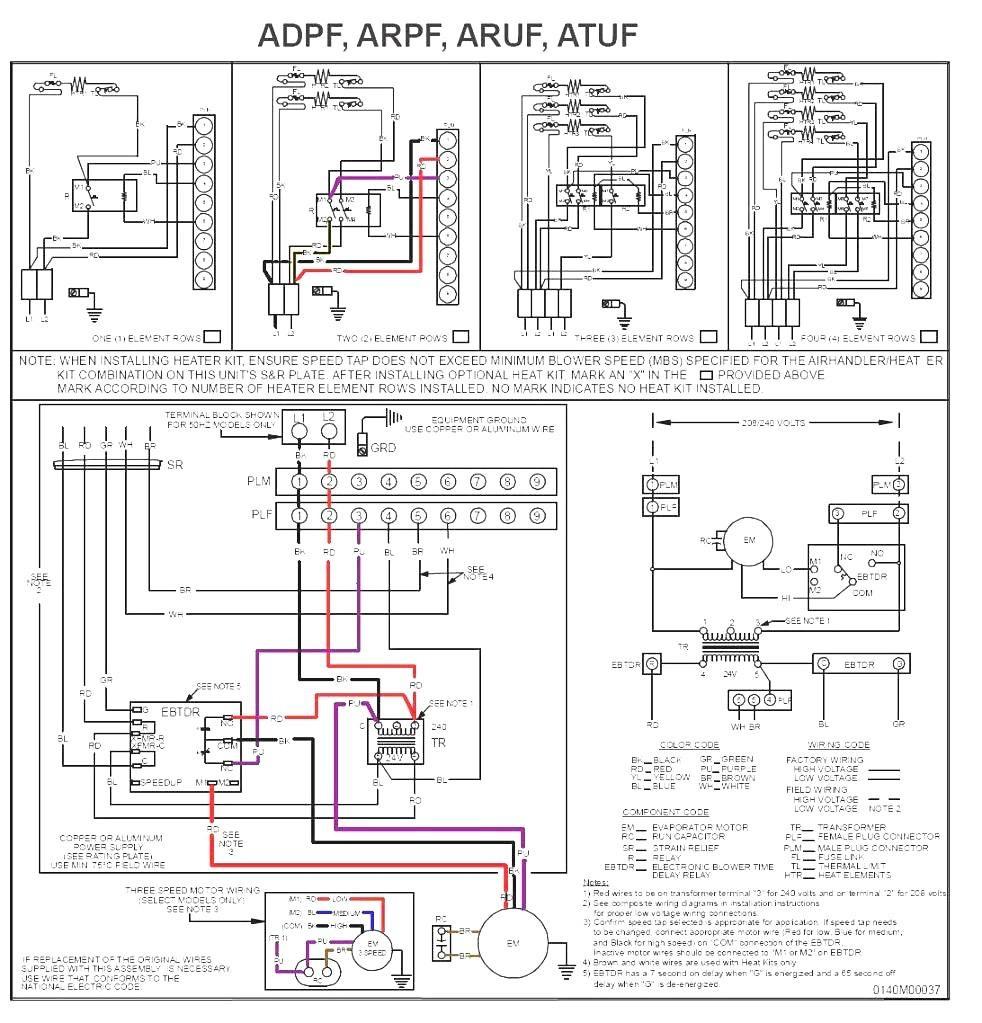 ruud wiring diagram ugdg 075auer