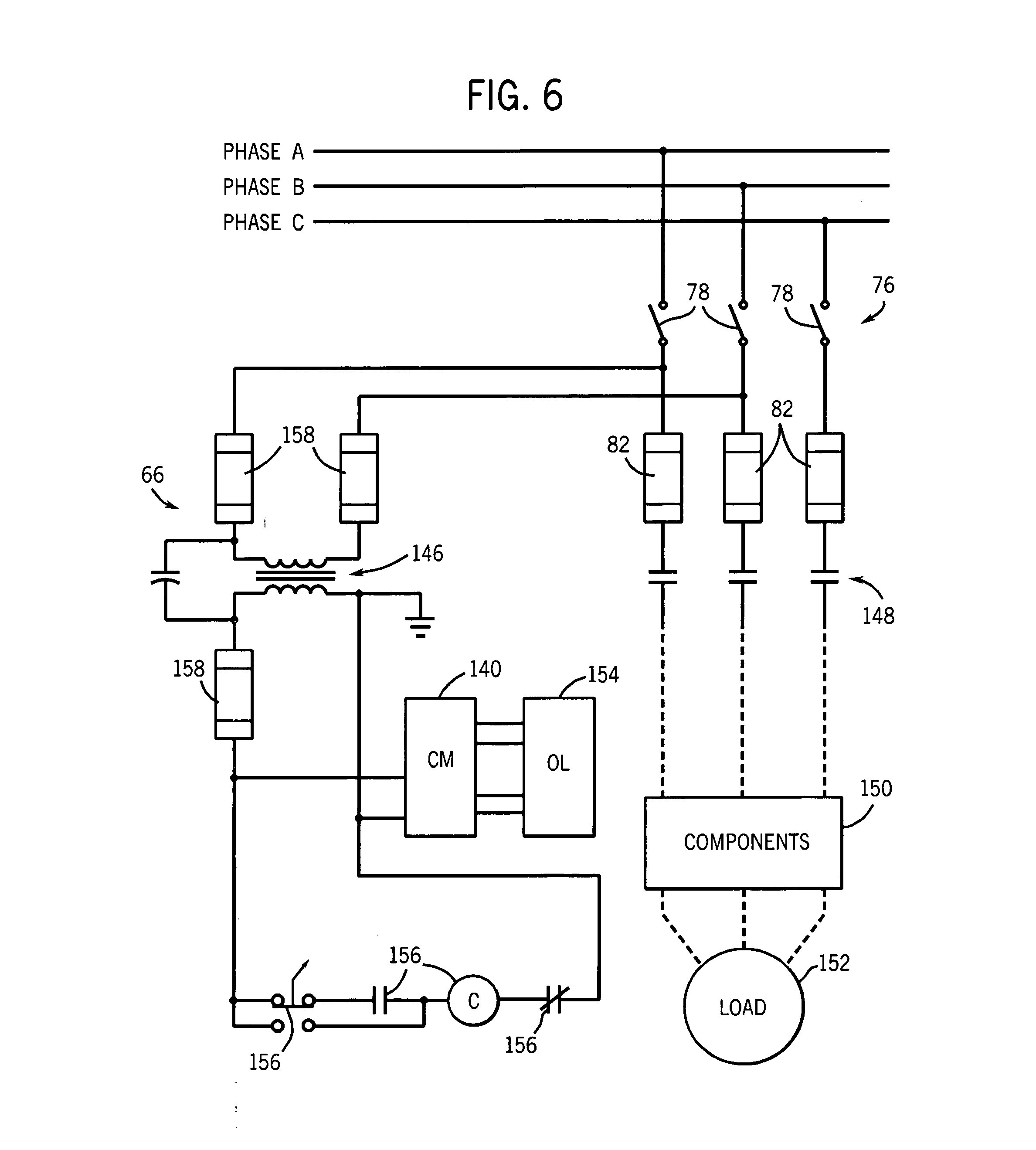 phase emergency stop on wiring diagram