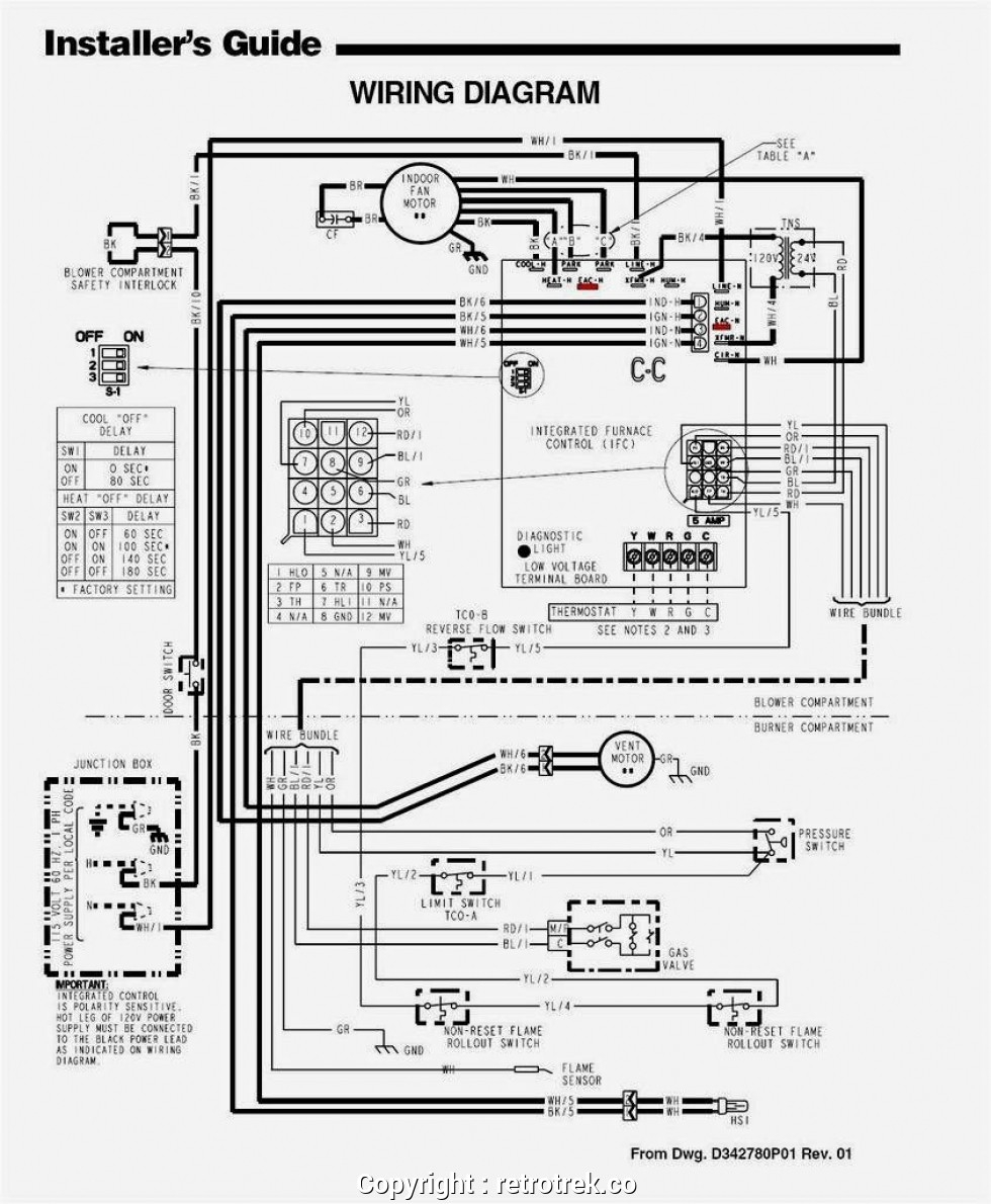wiring a thermostat to furnace