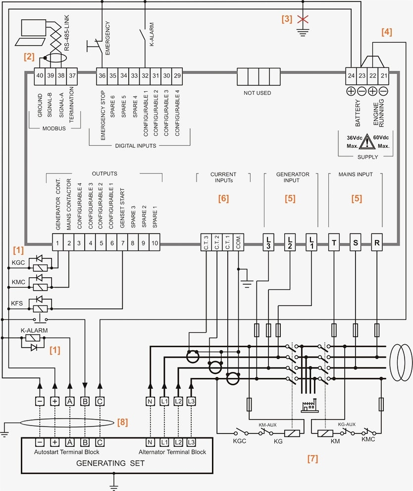 simple ats wiring diagram