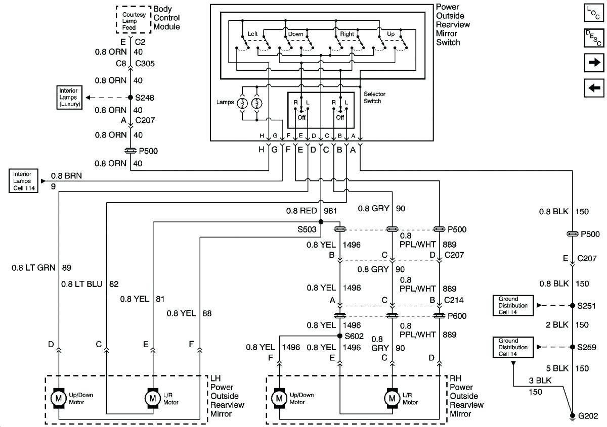 Gm Mirror Wiring Diagram - Diagram Data Schema on ford f250 mirror wiring diagram, ford fiesta mirror wiring diagram, hyundai sonata mirror wiring diagram,