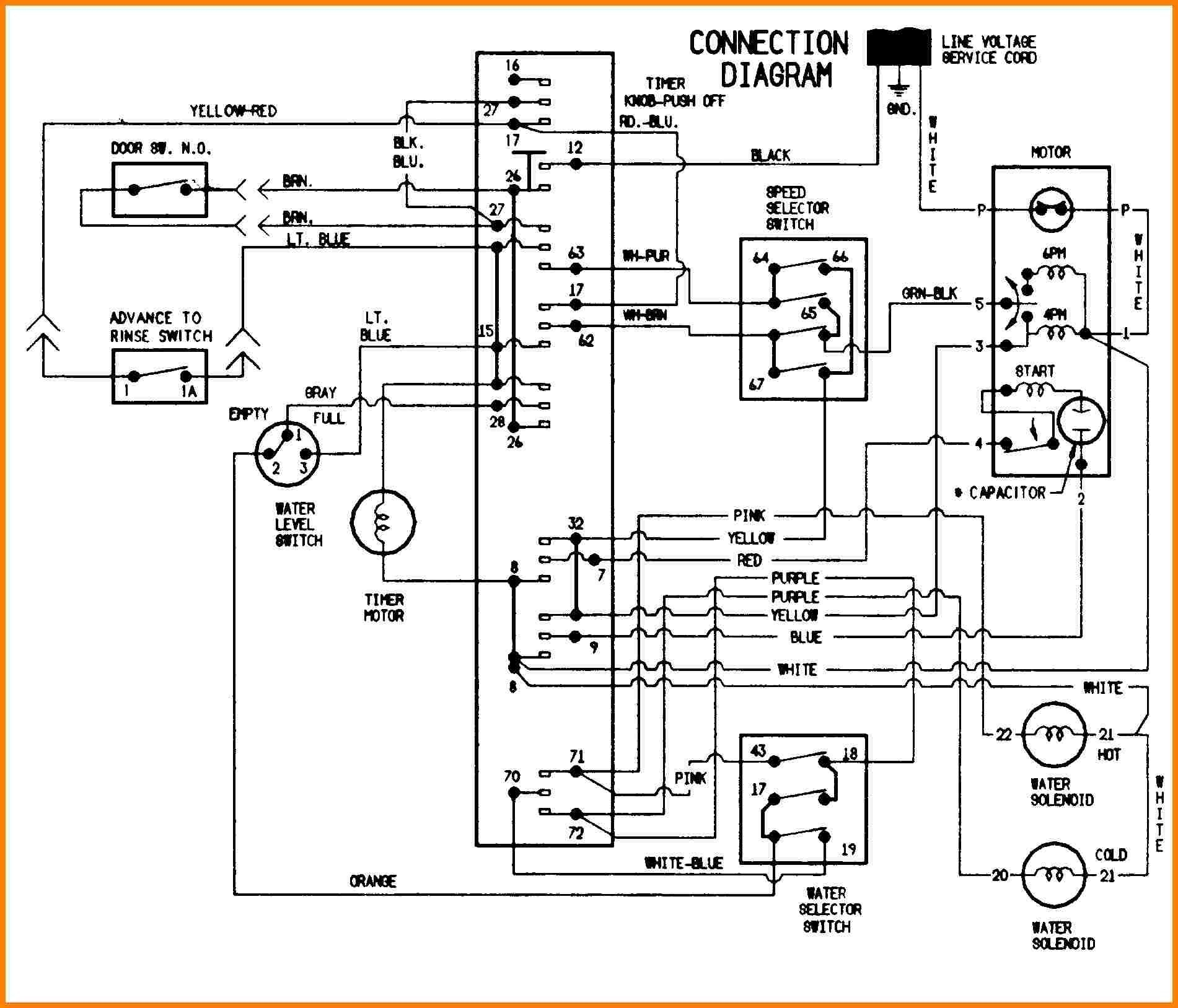 dryer schematic wiring diagram