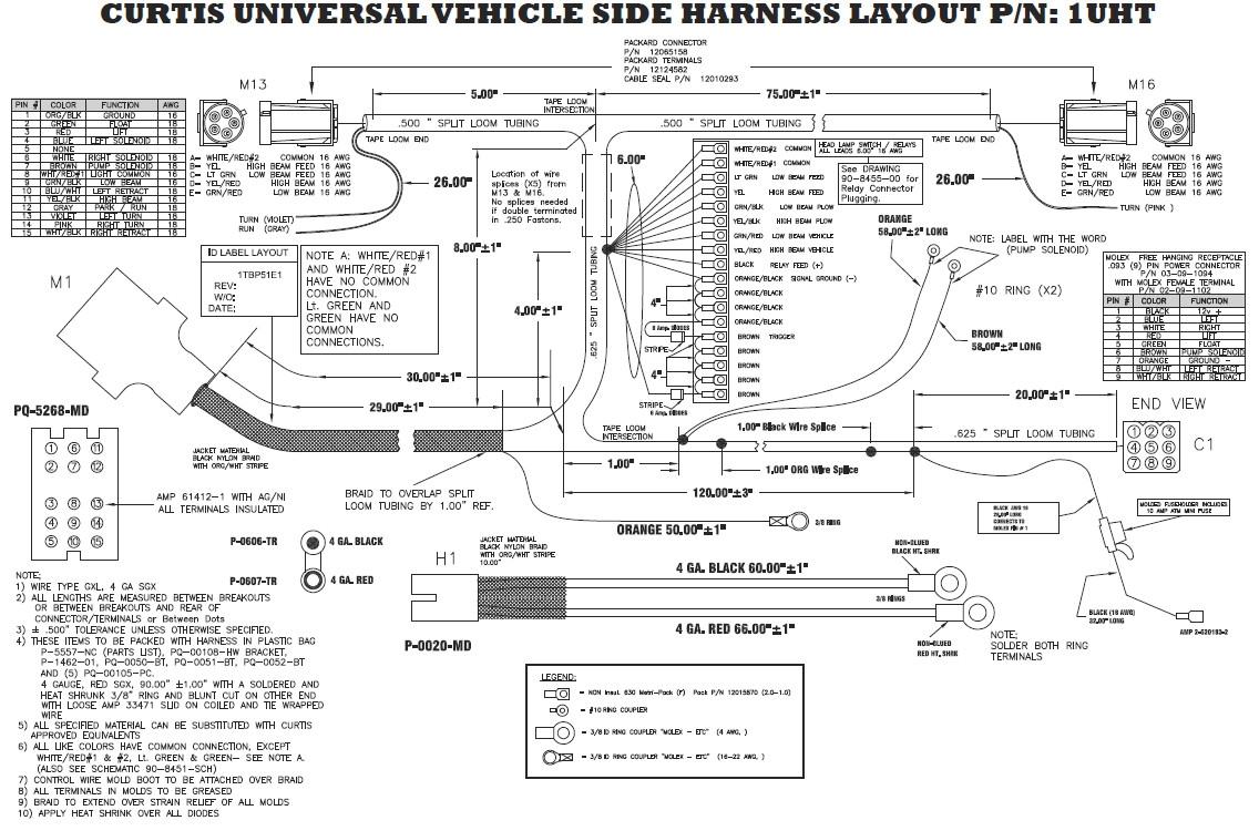 western snow plow wiring diagrams