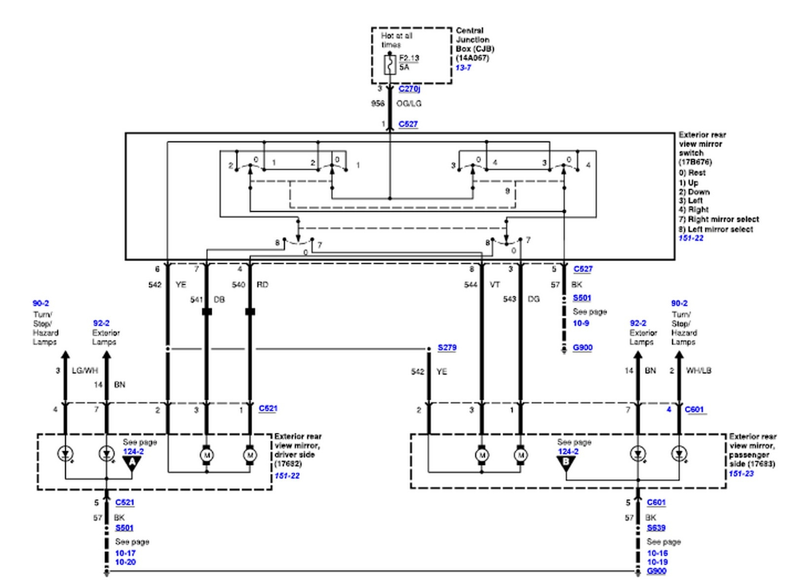 2005 f250 window wiring diagram