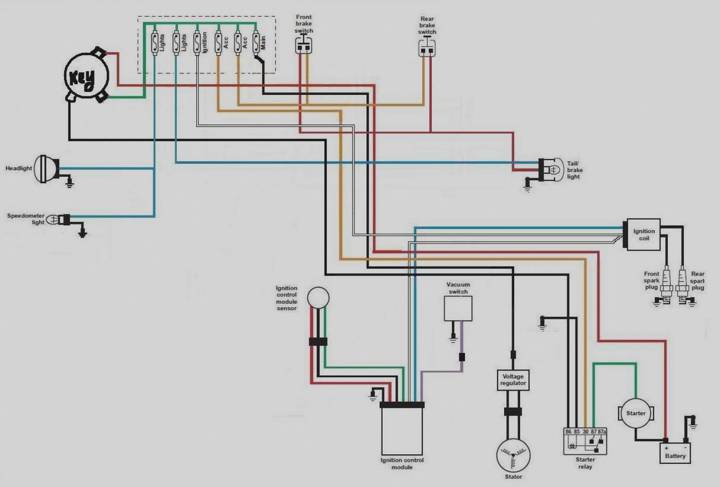 2006 sportster wiring diagram