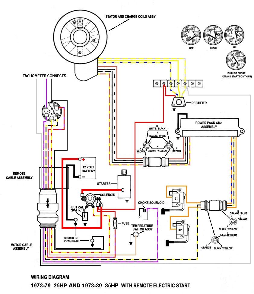 20 hp mercury outboard diagrama de cableado