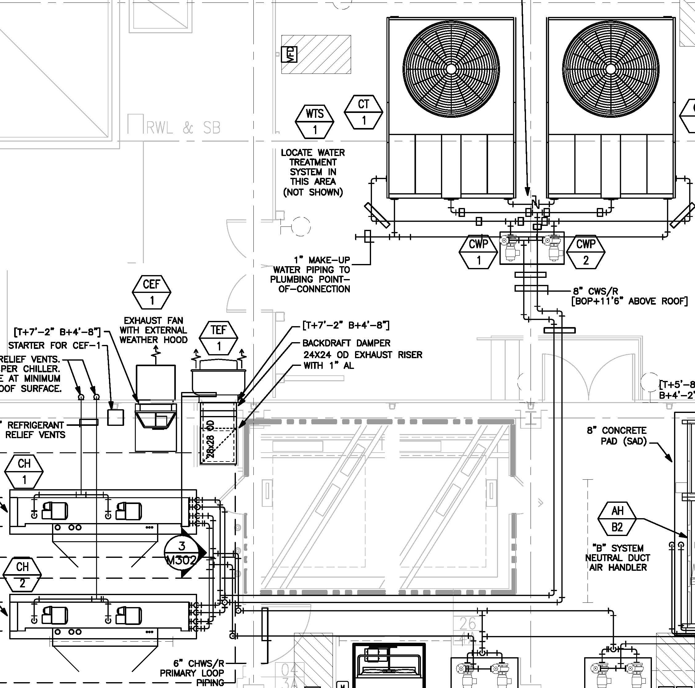 rooftop unit schematic diagram