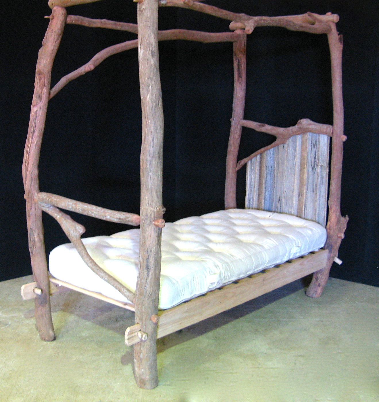 4 Poster Bed Australia Rustic Single Four Poster Bed Richard Knight Woodworks