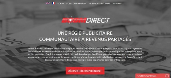direct boom scam