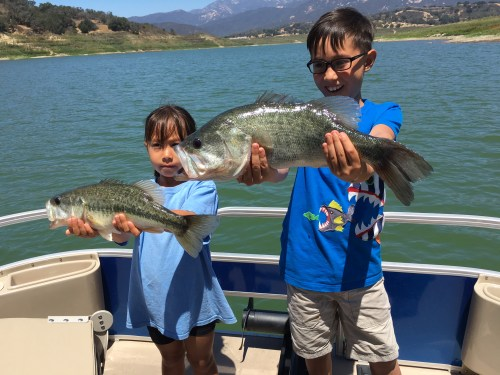 Lake Casitas Fishing Guide 07/17/2016