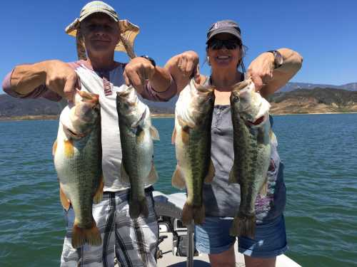 Lake Casitas Fishing Guide Report 08-18-2016