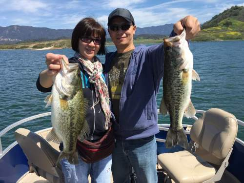 Southern California Bass Fishing Guide Service - Lake Casitas 04/03/2016