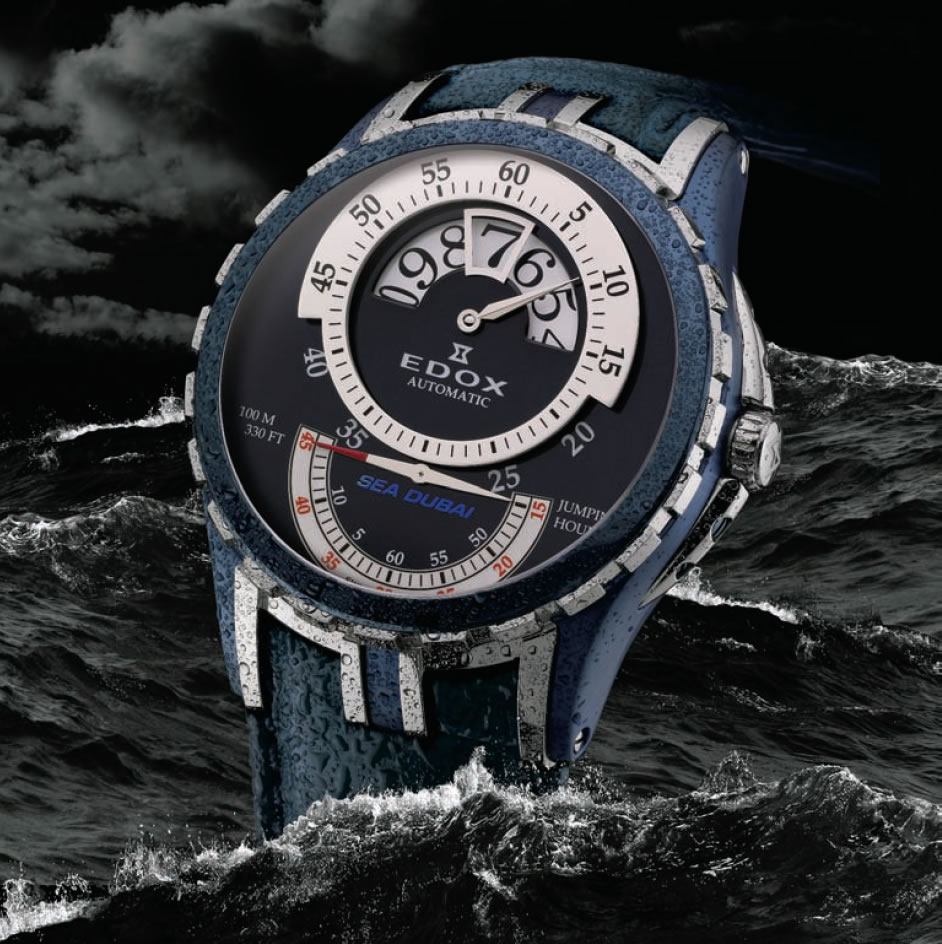 Zeitmesser In Der Küche Edox Sea Dubai Limited Edition - Richtigteuer.de