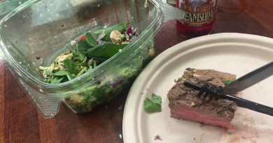 Dating, cranberries, and steak