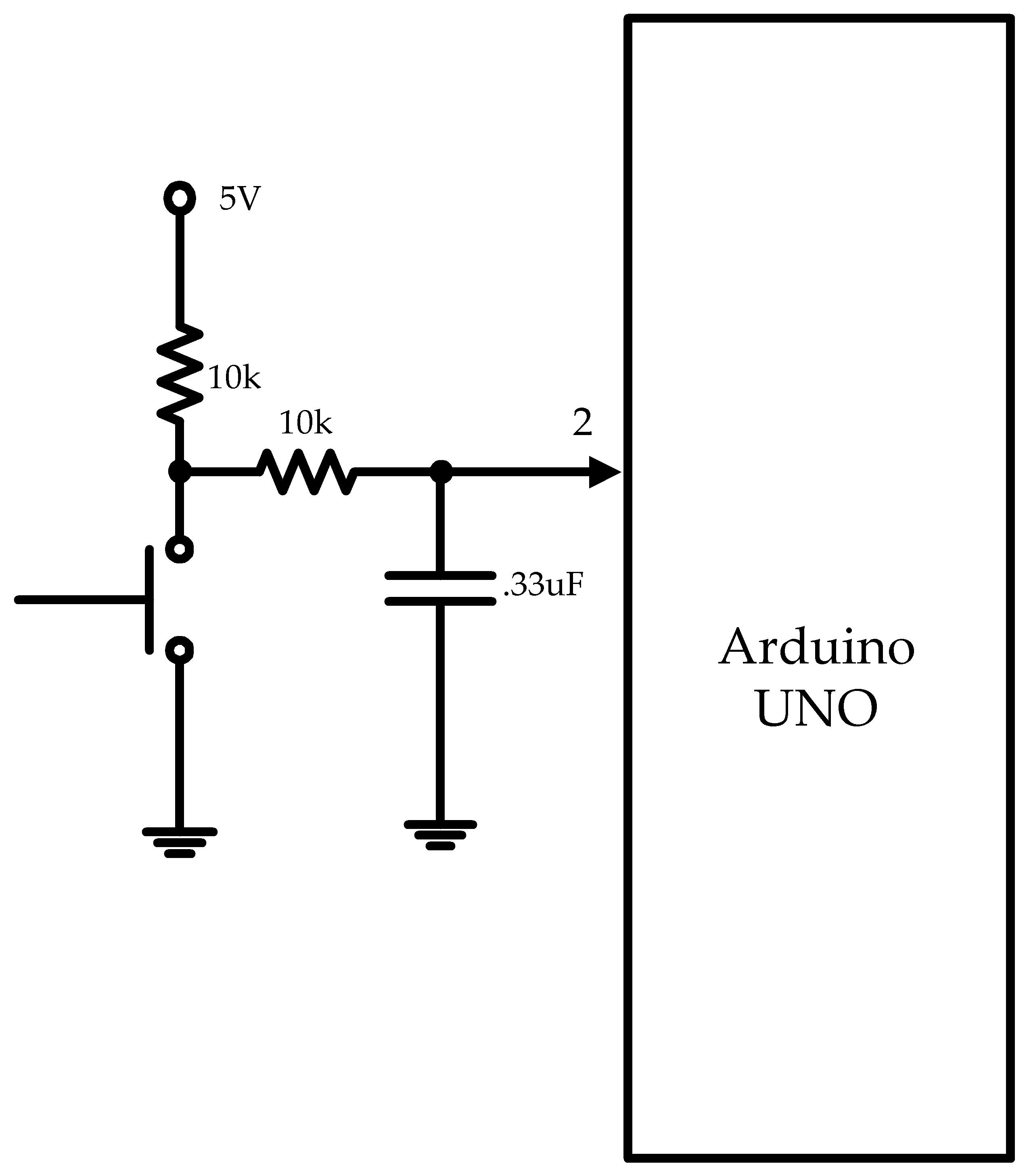 simple debounce circuit