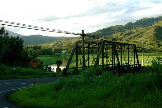 Hanalei River Bridge
