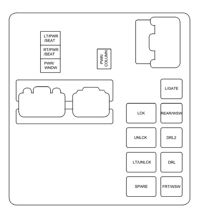 2006 civic si fuse box diagram
