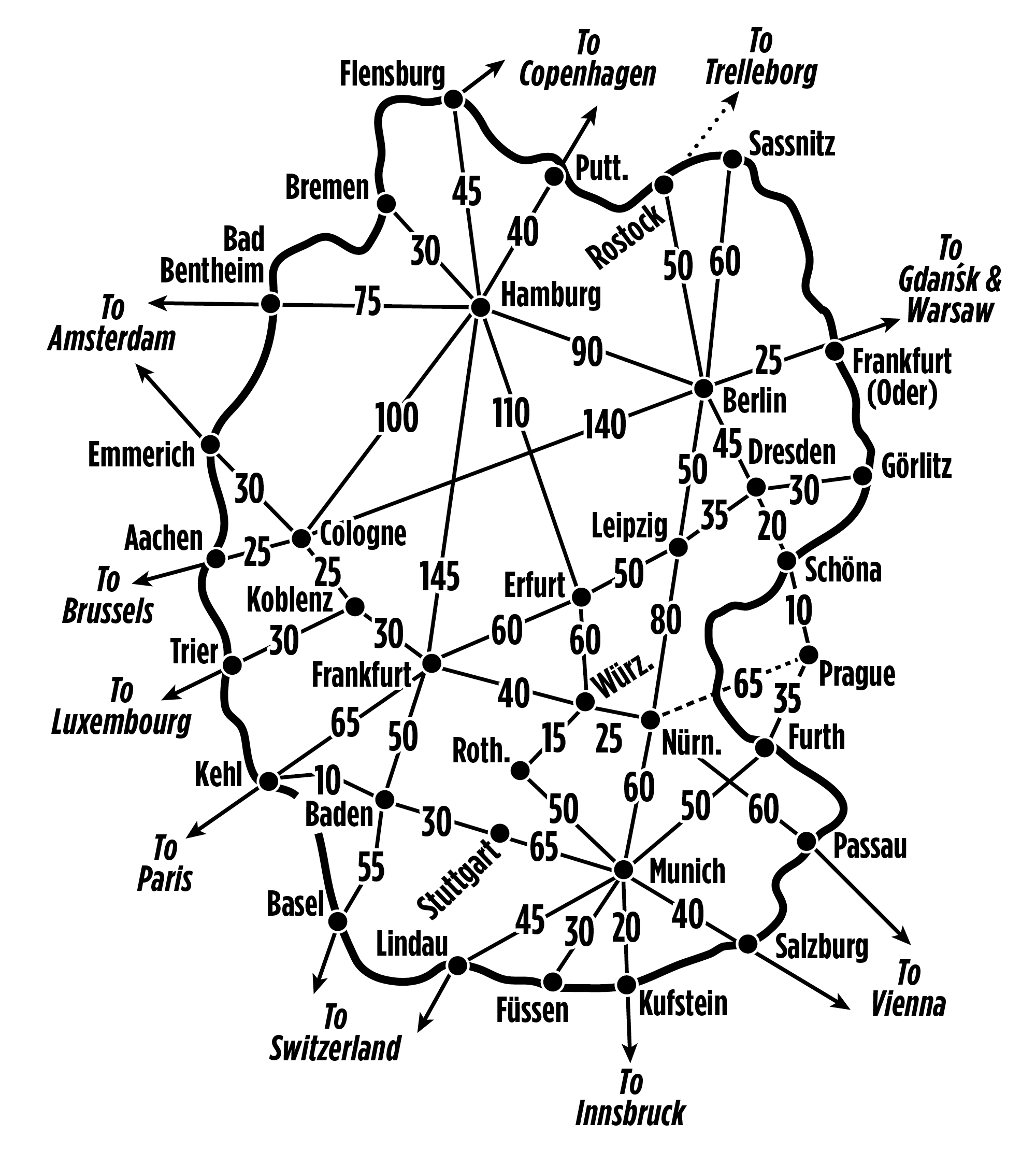 Bus Berlin Erfurt Germany Rail Passes And Train Tips From Rick Steves