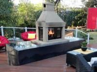 Outdoor Gas Fireplace Kits For Indoors  Rickyhil Outdoor ...